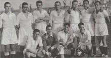 El Sevilla, que a pesar de sus 3 últimas derrotas, ha obtenido el título de campeón.-Foto Olmedo-AS19351118.