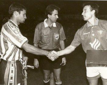 Hoy hace 23 años. Ecija 1 Betis 2 en Copa.