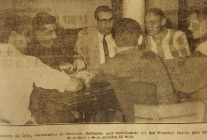 Concentración en Oromana 1964