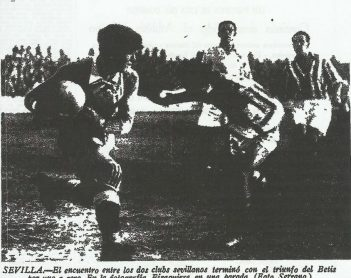 1935-Diciembre 29-Primera.-Betis Balompié-1 Sevilla FbC-0.-81Aniversario.