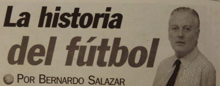 La historia del fútbol, de Bernardo Salazar