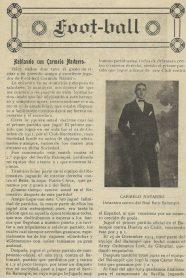 """""""Hablando del Balompié con CARMELO Navarro Hurtado"""".-100 Aniversario"""