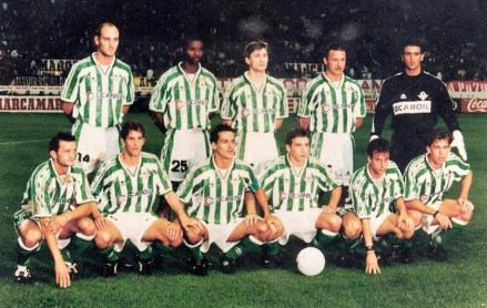 Alineación Atlético de Madrid-Betis Liga 1996
