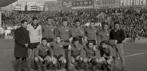 1961-Febrero 26-Primera.-Real Sociedad-0 Real Betis Balompié-1.-56Aniversario.