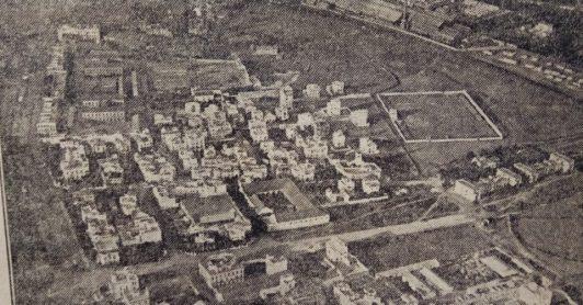 Vista aérea del Patronato 1926