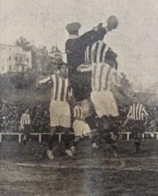 Hoy hace 93 años. Athletic Madrid 1 Betis 1 en Copa.