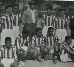 Alineación Sevilla-Betis Copa Spencer 1926