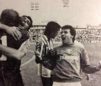 Hoy hace 32 años. Las Palmas 1 Betis 2.
