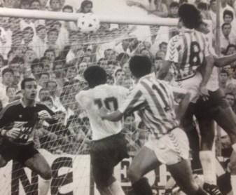 Hoy hace 31 años. Victoria 1-0 contra el Tenerife y descenso a Segunda División.