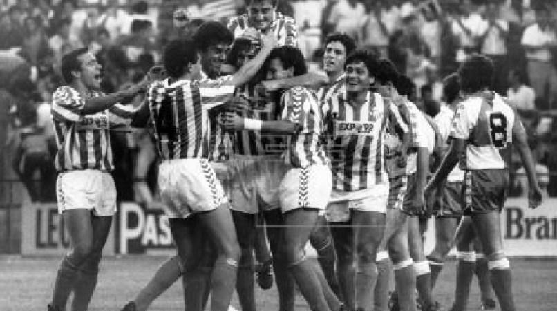 Hoy hace 33 años. Betis 6 Sabadell 0.