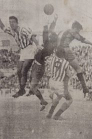 Hoy hace 62 años. Betis 6 Extremadura 1.