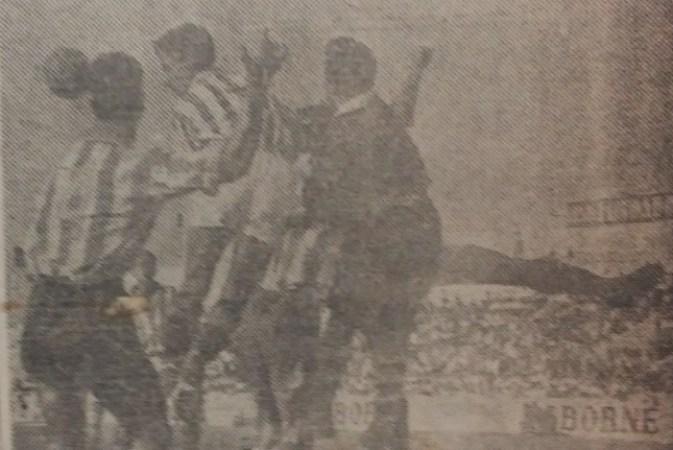 Hoy hace 70 años. Betis 5 Atlético Malagueño 0.