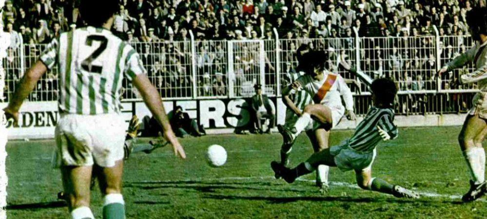 Hoy hace 42 años. Rayo Vallecano 4 Betis 2.
