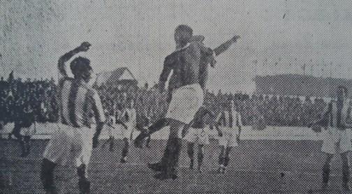 Hoy hace 86 años. Betis 1 Donostia 1.