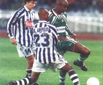 Hoy hace 22 años. Real Sociedad 0 Betis 2 en Copa.