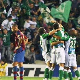 Betis-Barcelona Liga 2008