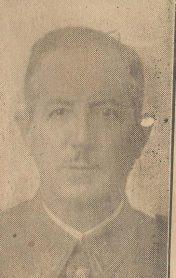 Don Juan Del Castillo Ochoa.-Presidente Sociedad Sevilla Balompié-Matriz del Real Betis Balompié.-Recorte Prensa