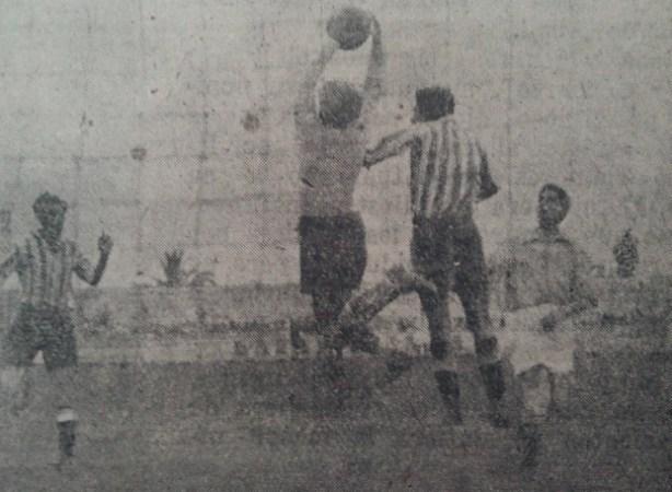 Hoy hace 73 años. Betis 2 Toledo 0.