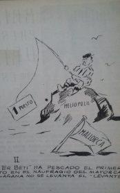 Oselito y el Betis. 1946