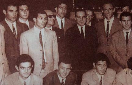 Recepción en el Ayuntamiento 1967