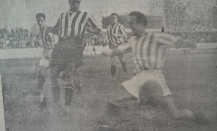 Hoy hace 88 años. Betis 3 Athletic Madrid 3.