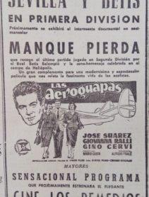 Anuncio documental Manquepierda 1958