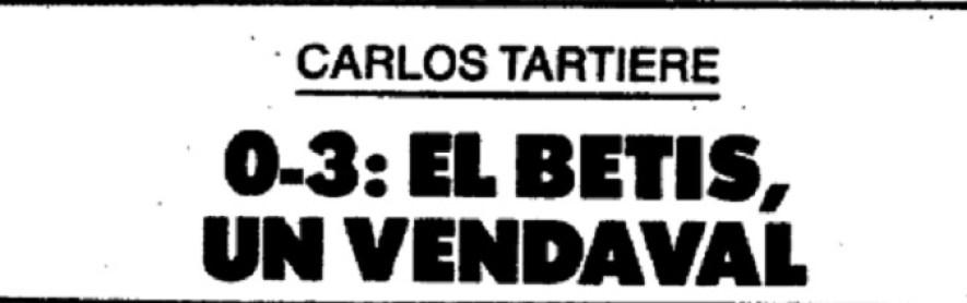Hoy hace 30 años...