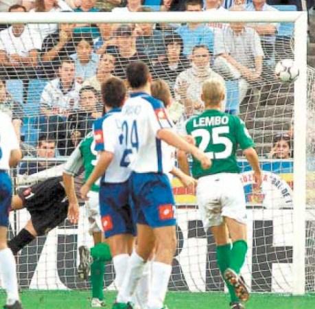 Hoy hace 18 años. Zaragoza 0 Betis 1.