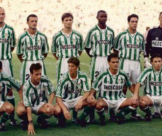 Alineación Betis-Athletic Liga 1996