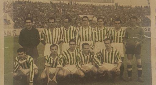 Alineación Betis-San Fernando Liga 1950