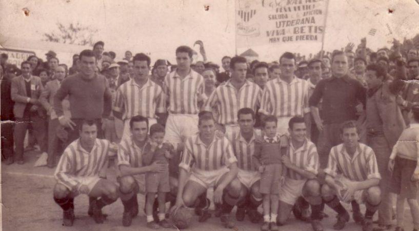 Hoy hace 67 años. Utrera 0 Betis 2.