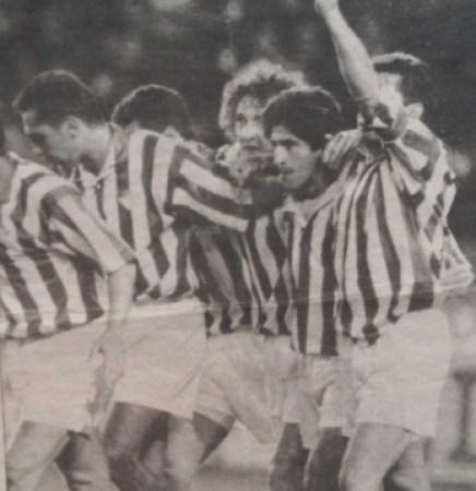 Hoy hace 27 años. Betis 5 Elche 0 en Copa.