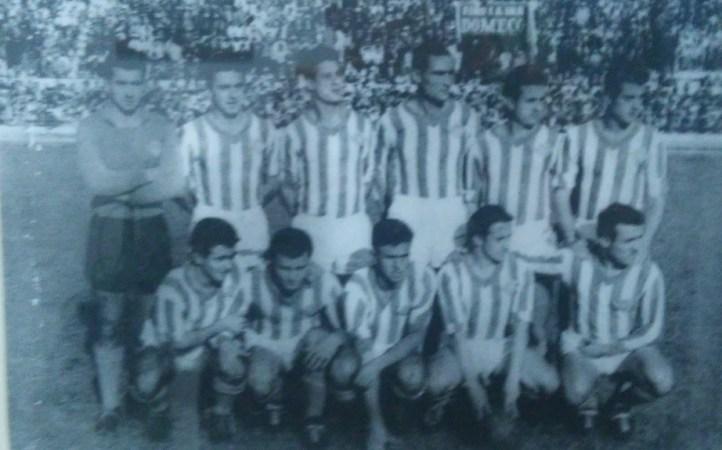 Hoy hace 62 años. Betis 2 Las Palmas 0.