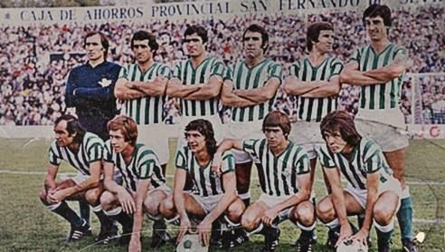 Alineación Betis-Celta Liga 1976