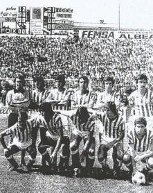 Alineación Betis-Real Sociedad Liga 1978