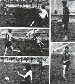 Betis-Milan 1977. Entrenamientos