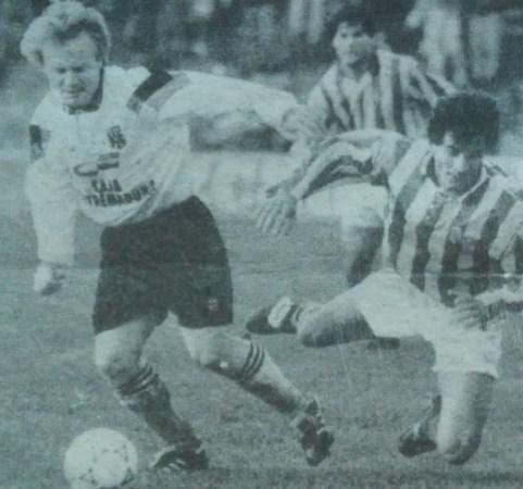 Hoy hace 27 años. Betis 3 Mérida 1 en Copa.