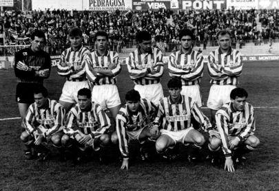 Alineación Sabadell-Betis Liga 1992