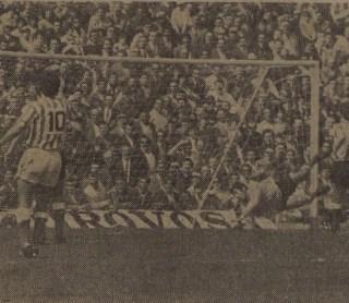 Betis-Hércules Liga 1974