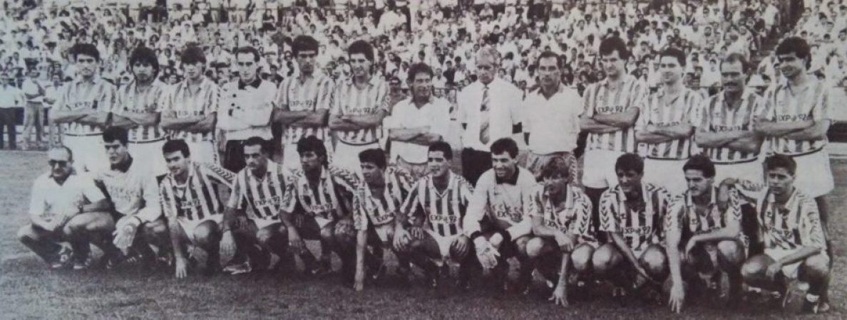 Hoy hace 32 años. Comienzan los entrenamientos en el Villamarín.