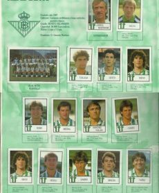Album de cromos temporada 1987-88