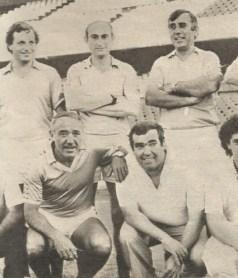 El cuadro técnico de la cantera en 1982