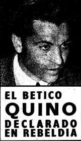"""Hoy hace 50 años. Joaquín Sierra """"Quino"""" declarado en rebeldía."""