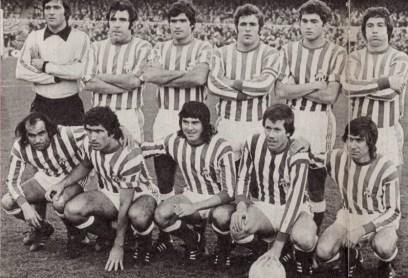 Alineación Barcelona-Betis Liga 1978