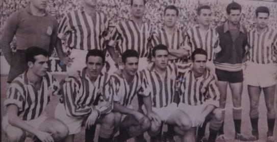 Alineación Betis-Plus Ultra Liga 1957