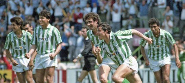 Betis-Valladolid Liga 1988