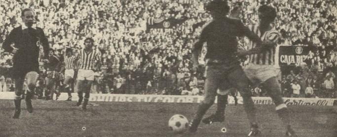 Hoy hace 40 años. Betis 1 Real Sociedad 1.