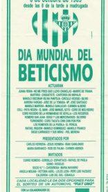 Hoy hace 30 años. Día Mundial del Beticismo