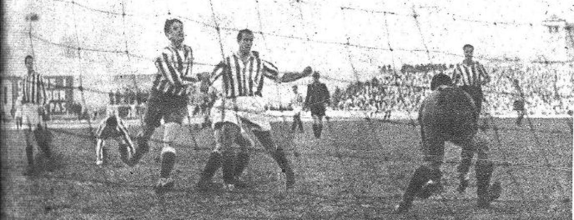 Hoy hace 76 años. Atlético Aviación 4 Betis 1 en Copa.