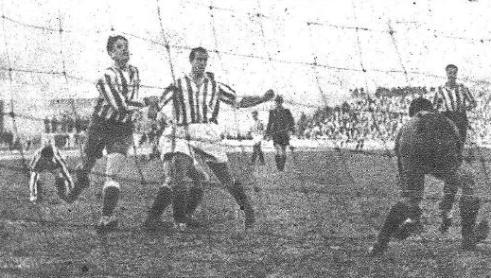 Hoy hace 75 años. Atlético Aviación 4 Betis 1 en Copa.